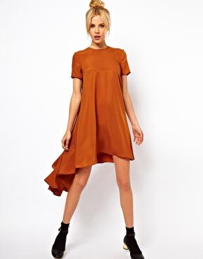 dippedbackhem dress