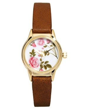 River Island Floral Helen Watch