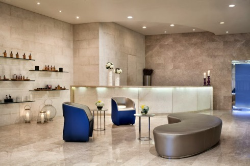 Pure Spa Reception